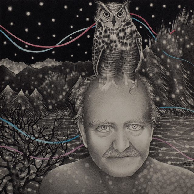 , 'V. and the Owl,' 2015, Dorothy Circus Gallery