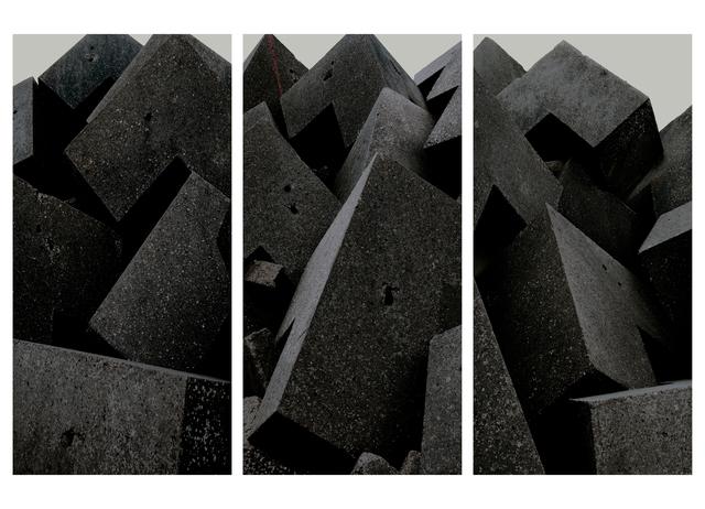 , 'Untitled (Defenses), Parts I,II & III, England,' 2015, Flowers