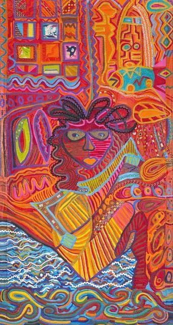 , 'Pacita Sailing,' 1983, Pacita Abad Art Estate