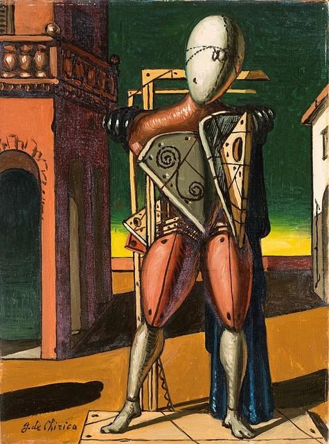 Giorgio de Chirico, 'Il trovatore', circa 1960, Finarte