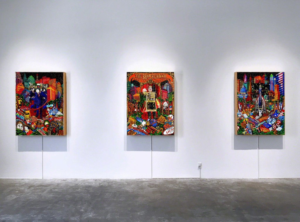 Federico Solmi: The Brotherhood installation