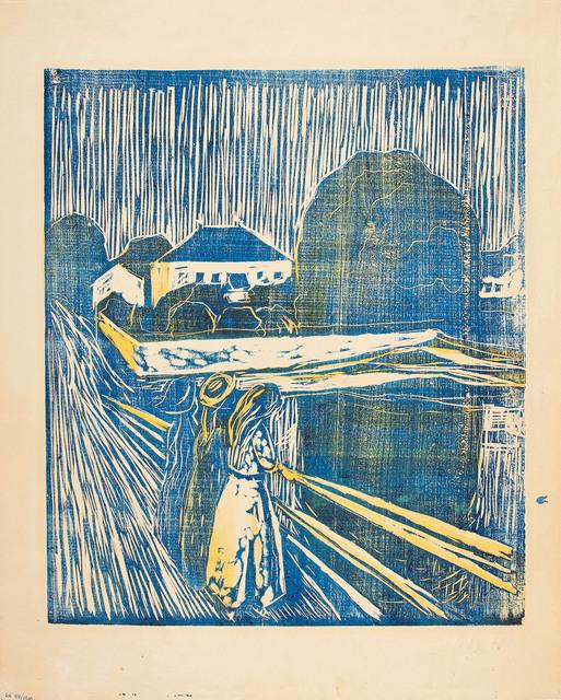 , 'Pikene på broen (The Girls on the Bridge),' 1918, Modernism Inc.