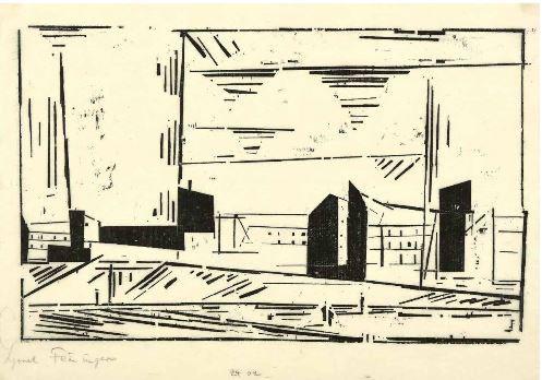 , 'Vorstadt I,' 1924, Jörg Maass Kunsthandel