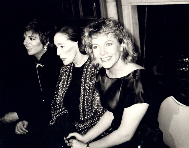 Andy Warhol, 'Andy Warhol, Photograph of Liza Minnelli, Martha Graham and Kathleen Turner', ca. 1985, Hedges Projects