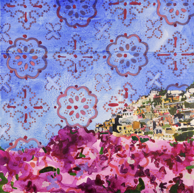 , 'Blooms over Positano,' ca. 2018, Rafael Gallery