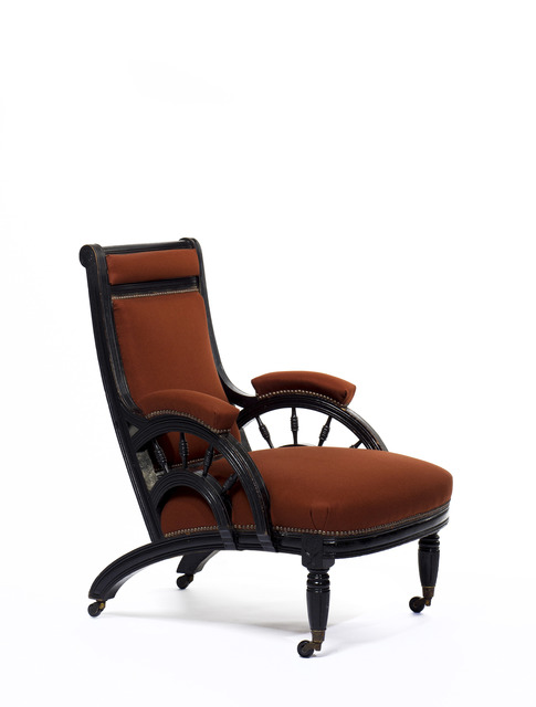 , 'Lounge chair,' ca. 1876, Oscar Graf