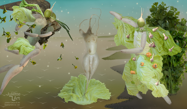 , 'The Birth of the Radish,' 2008, Juliette Culture and Art Development Co. Ltd.