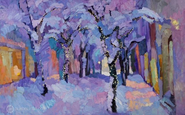, 'Tales of Winter,' 2017, Paul Scott Gallery & galleryrussia.com
