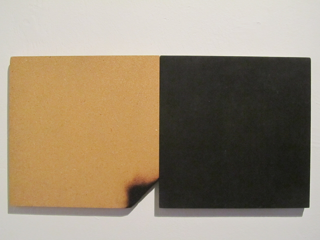 , 'untitled dyptich with chipboard,' 1992, Edition & Galerie Hoffmann