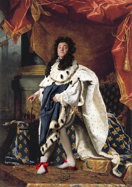 , 'Ode to Rigaud's Louis XIV,' 2013, Jonathan Ferrara Gallery