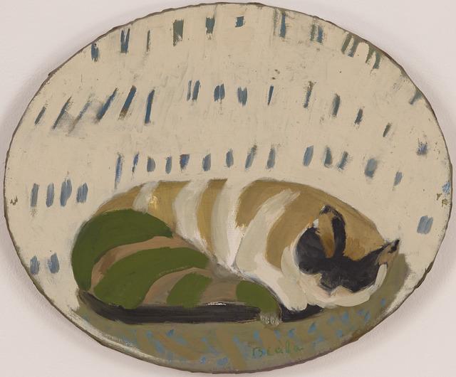 , 'Chat Couché,' ca. 1975, Tibor de Nagy
