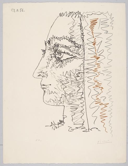 Pablo Picasso, 'Profil En Trois Couleurs (Jacqueline Roque)', 1956, Galerie Maximillian