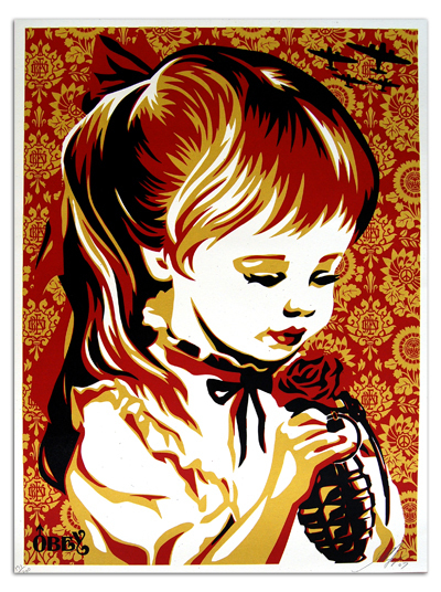 Shepard Fairey, 'War By Numbers', 2007, EHC Fine Art