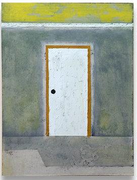 Francesca Reyes, 'Door #24', 2018, Painting, Oil on panel, Deep Space Gallery