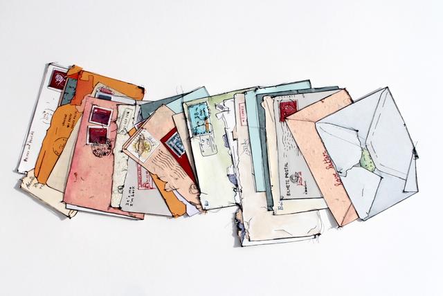 , 'Cartas Dispersas I,' 2017, Galerie Hervé Lancelin