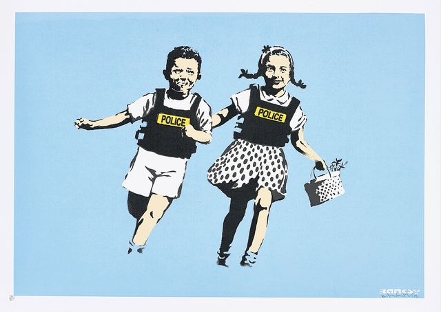 Banksy, 'Police Kids (Jack and Jill)', 2005, Phillips