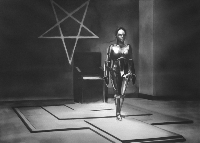 ", 'Metropolis (Fritz Lang, 1927), from the series ""Science Fiction"",' 2015, PRISKA PASQUER"