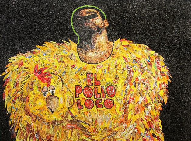 , 'El Pollo Loco,' 2015, Disruptive Canvas