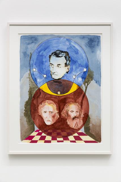 , 'Mayer, Marx, Fourier,' 2015, Galleria Massimo Minini