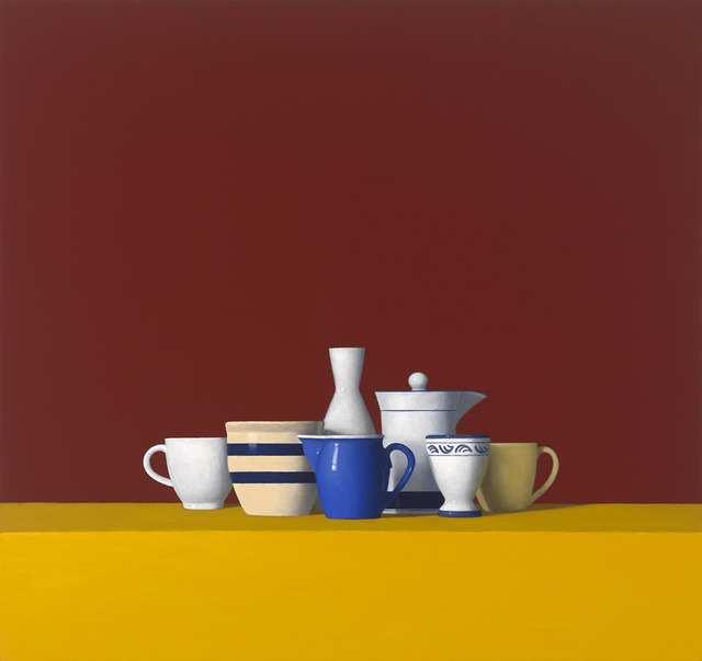David Harrison, 'Still Life with Seven Objects (#176)', 2010, Painting, Oil on canvas, Clark Gallery