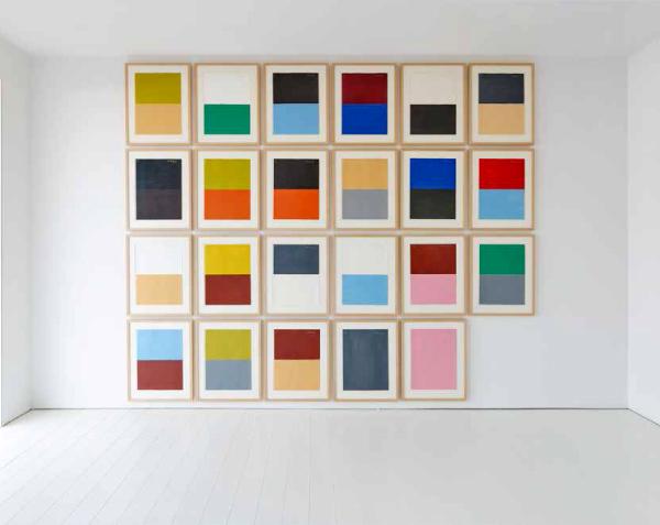 , 'Hommage à Le Corbusier,' 2000, Patrick De Brock