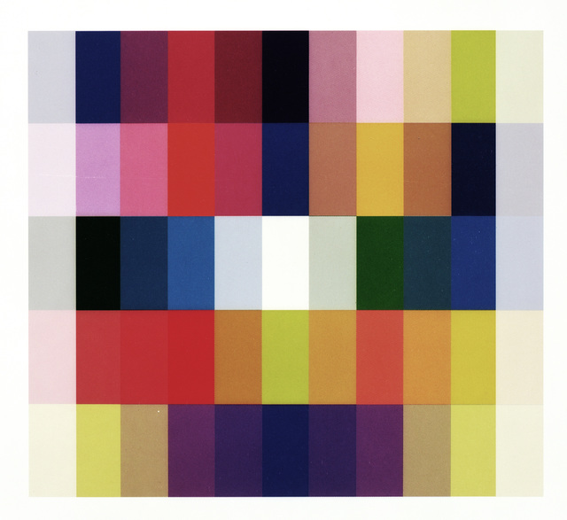 , '25 Farben I,' 2009, Galerie Kleindienst