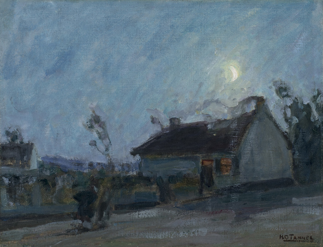 , 'Untitled (Moonlit Landscape with Cottage),' ca. 1912, Michael Rosenfeld Gallery