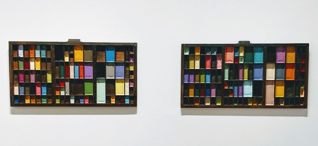 Melanie Rothschild, 'Paint Trays', ca. 2013, Michael Warren Contemporary