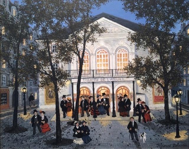 , 'Première au Théâtre de l'Atelier,' , Hugo Galerie