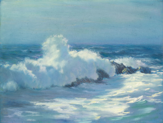 , 'CRASHING WAVES MAINE,' , Jerald Melberg Gallery