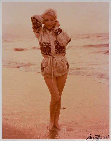 George Barris, 'Portrait of Marilyn Monroe Standing from The Last Photos', 1962-printed later in 1987, Roseberys