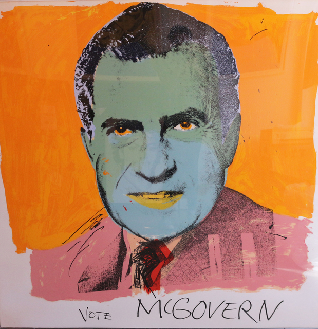 Andy Warhol, 'Vote McGovern', 1972, Revolver Gallery