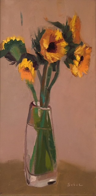 Jonathan Sobol, 'Nambe Sunflowers', 2014, M.A. Doran Gallery