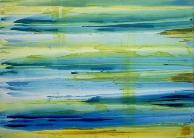 Erik Skoldberg, 'Erik Skoldberg, Lime, Marine, Honey, Aqua', 2019, Oliver Cole Gallery