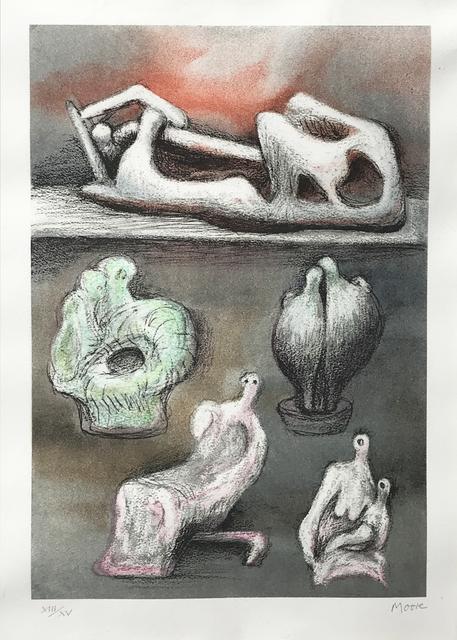 , 'Five Ideas,' 1981, Eckert Fine Art