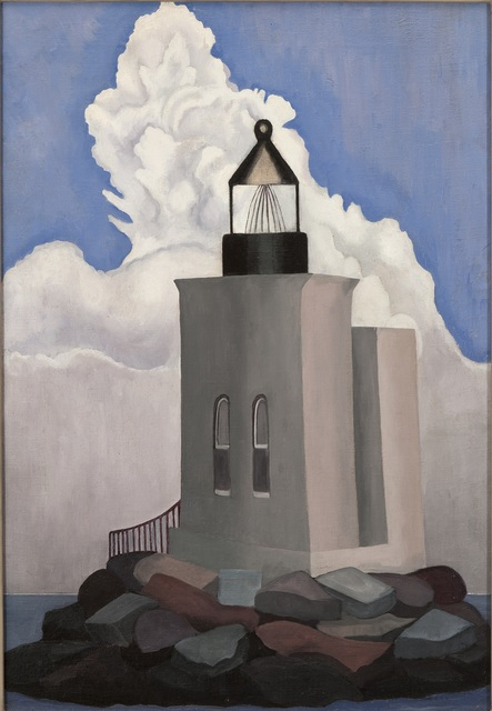 , 'White Cloud (Light House),' 1932, Norton Museum of Art