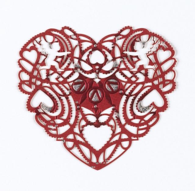 Marian Bantjes, 'Greeting card Valentine', 2010, Cooper Hewitt, Smithsonian Design Museum