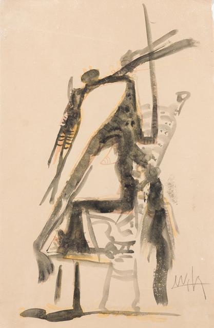 , 'Personaje femenino sentado,' 1957, Ansorena Galeria de Arte