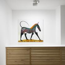 Matthias Dornfeld, Cinzano, exhibition view, Jahn und Jahn, 2018