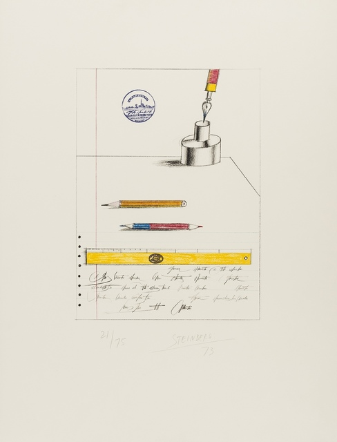 Saul Steinberg, 'Papeterie', 1973, Forum Auctions
