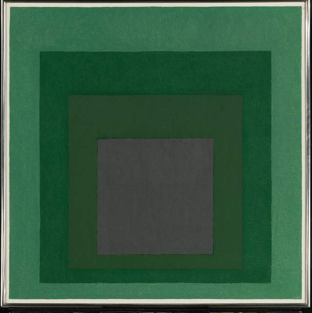 , 'Study for Homage to the square: Absorption,' 1967, Vedovi Gallery