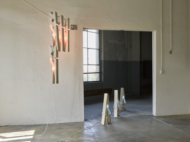 , 'HOLD AND LET GO,' 2018, Galerie Philippe David