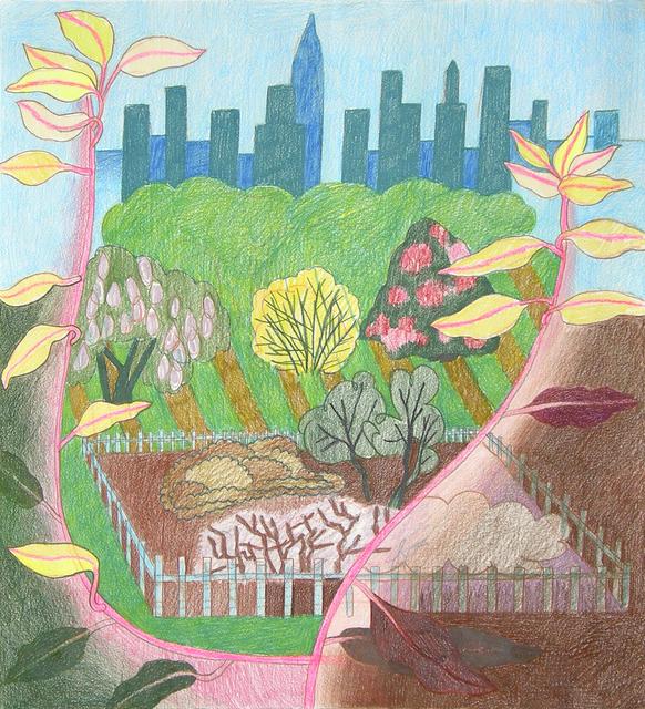 , 'Spring Vignette #1,' 2017, Morgan Lehman Gallery