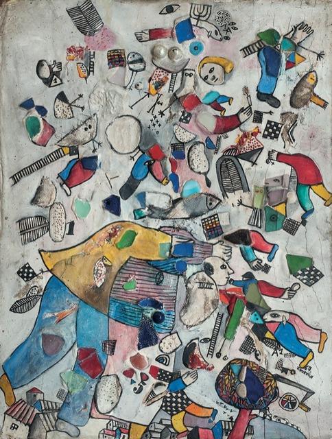 , 'Campesino en su mundo de ensueño,' 1967, Galería de las Misiones