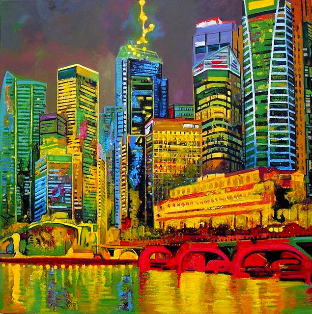 , 'Fullerton Hotel, Singapore,' 2014, Barnadas Huang