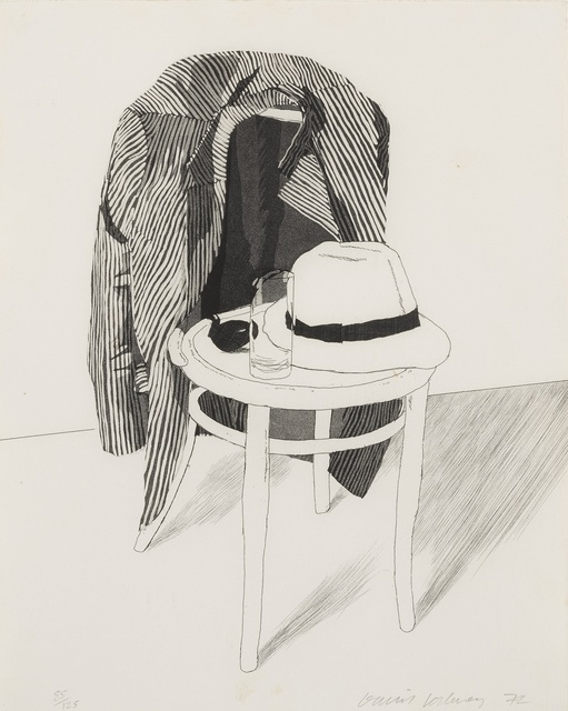 David Hockney, 'Panama Hat (Scottish Arts Council 127; Museum of Contemporary Art, Tokyo 119)', 1972, Sotheby's