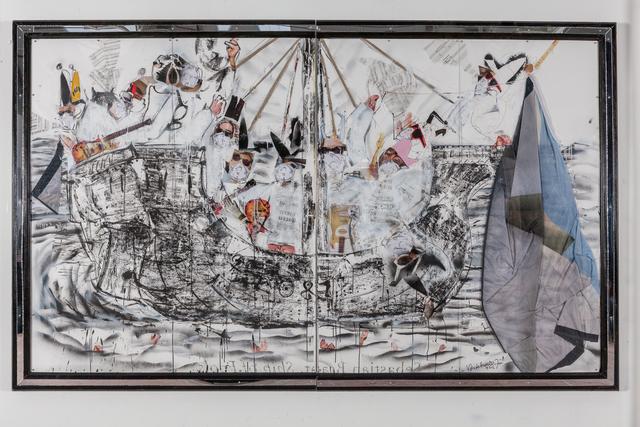 , 'Ship of fools,' 2018, Galerie Nathalie Obadia