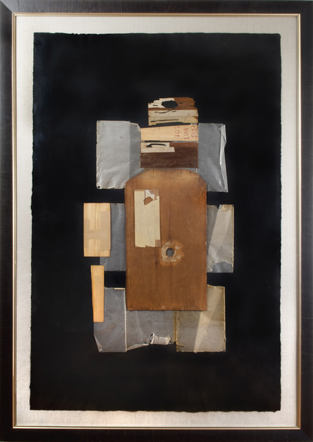 , 'Untitled (Collage with wood and glassine elements),' 1950, Thomas French Fine Art