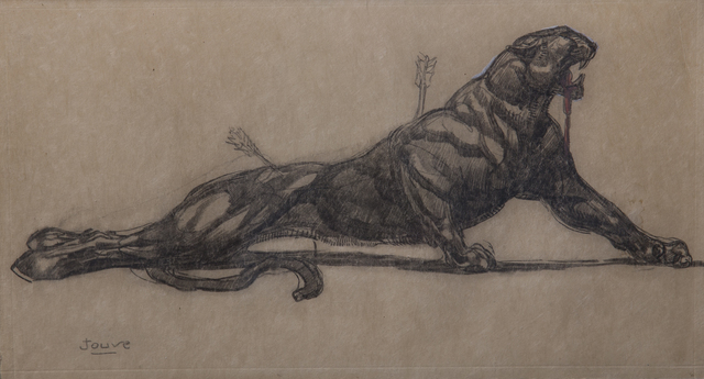 , 'Hurted Panther,' 1920, Galerie Marcilhac