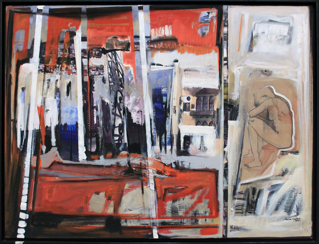 , 'The dancing city 1,' 2012, Art On 56th